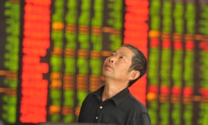 A concerned Chinese investor.
