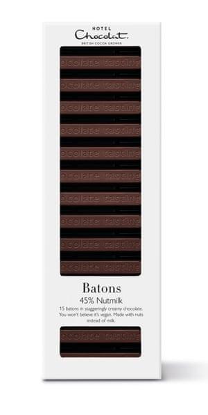 Hotel Chocolat's 45% Nutmilk batons