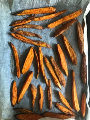 If you must bake them, Alice Hart's fries give the best results.