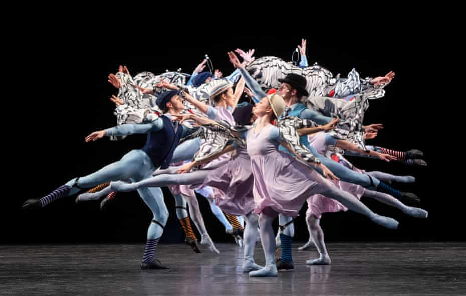 The Royal Ballet perform Jerome Robbins's The Concert.
