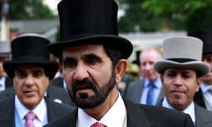 Sheikh Mohammed bin Rashid al-Maktoum at Royal Ascot in 2011