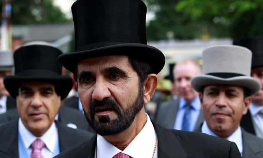 Sheikh Mohammed bin Rashid al-Maktoum at Royal Ascot in 2011