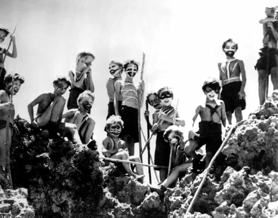 A still from the 1963 film of William Golding's Lord of the Flies. Photograph: Ronald Grant