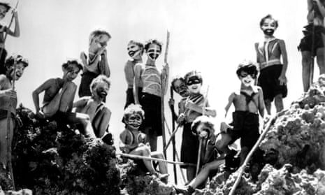 A still from the 1963 film of William Golding's Lord of the Flies.