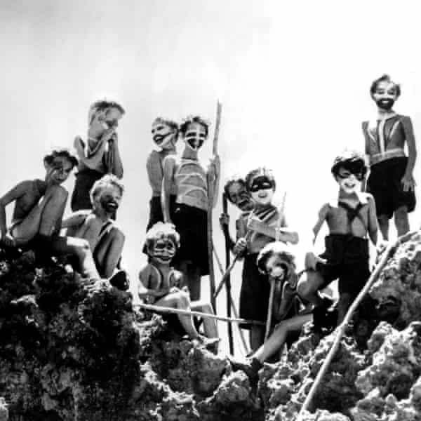 Signs of savagery … the 1963 film adaptation of Lord of the Flies.