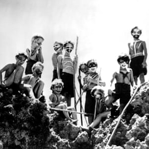 Gloomy assessments of humankind … the 1963 film adaptation of William Golding's The Lord of the Flies.