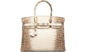 0a989ca29a4 What am I bid  Prices go through the roof at Christie s handbag ...