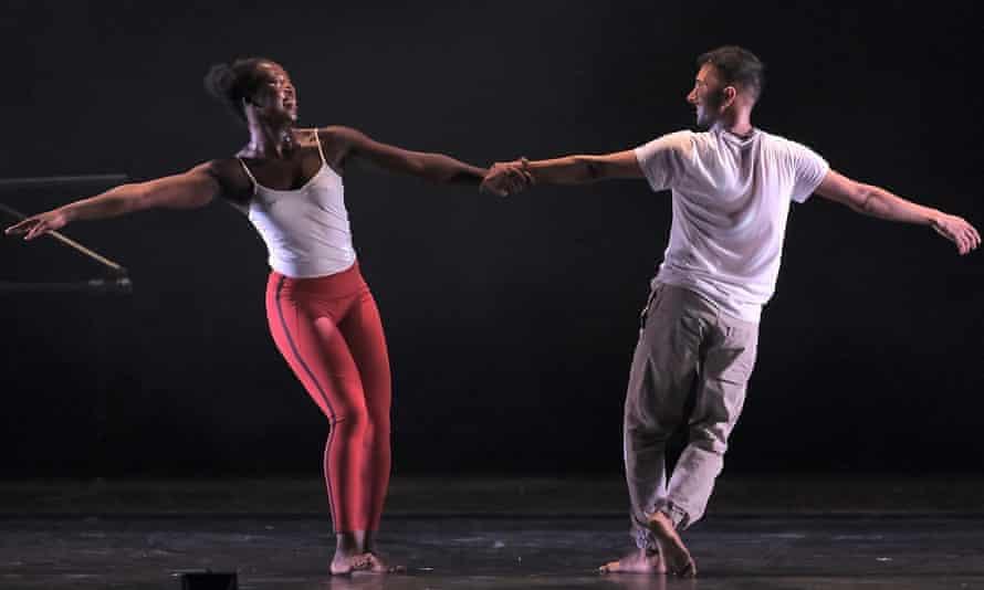 Kay composes their anxiety brilliantly … Mayowa Ogunnaike and Subhash Viman Gorania.