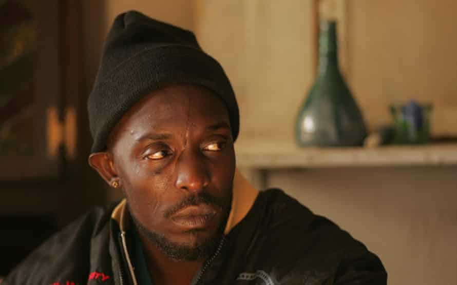 Michael K Williams as Omar in The Wire.