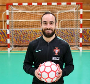 'I haven't chosen futsal; futsal chose me.' says Ricardinho. 'I've tried to play football and they told me that I was too small.'