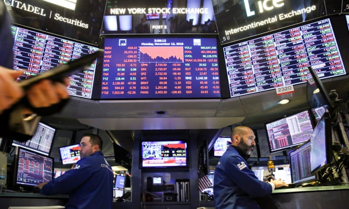 US stock markets continue to fall, erasing 2018 gains | Business