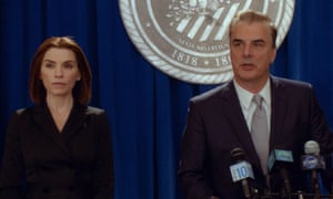 The Good Wife ends, in a way, where it began … Alicia and Peter Florrick.