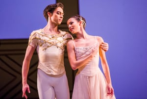 'The best of the new': Royal Ballet's James Hay and Francesca Hayward in Rhapsody.