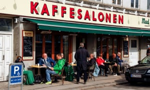 Street scene in Denmark. Nursing home residents will receive a third Covid jab, Danish officials have announced.