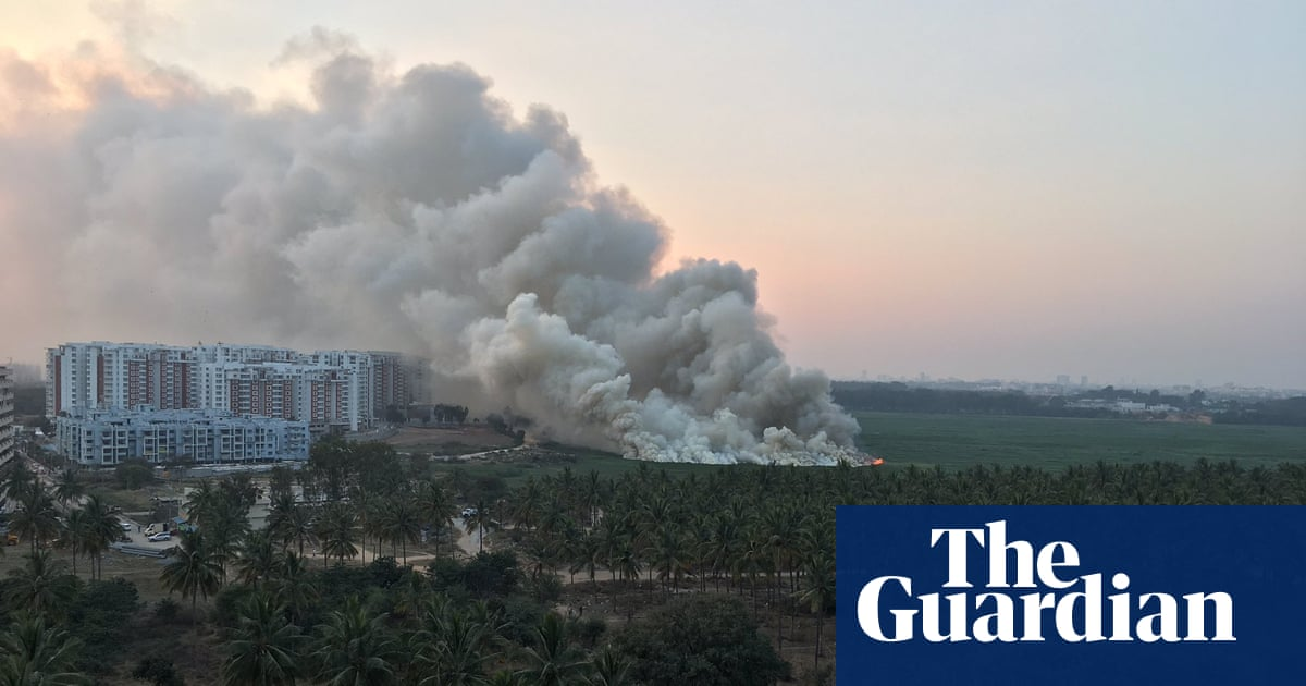 City of burning lakes: experts fear Bangalore will be