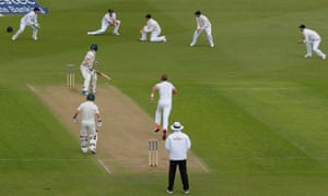 Chris Rogers caught by Cook off Broad