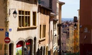 Montee de la Grande Cote, Croix Rousse, Lyon, FranceEBCR94 Montee de la Grande Cote, Croix Rousse, Lyon, France