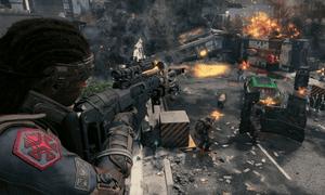 A sniper in Black Ops 4
