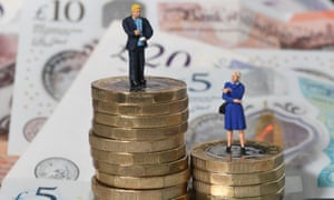 The gender pay gap between men and women working full-time has widened slightly