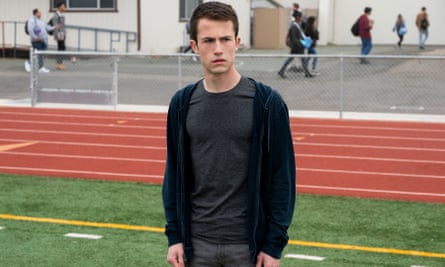 Dylan Minnette in 13 Reasons Why.