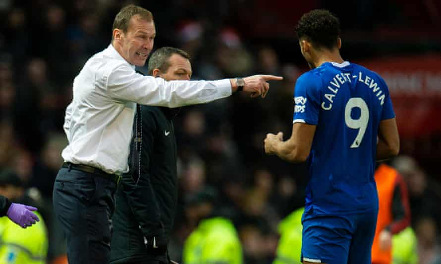 England's Dominic Calvert-Lewin credited Everton and Scotland stalwart Duncan Ferguson with improving their game.