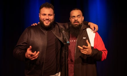 Mo Amer & Guz Khan at the Leicester Square Theatre.