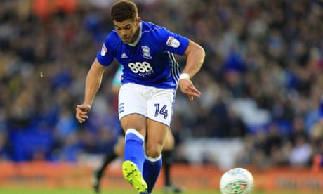 Che Adams nets hat-trick for Birmingham in win over Crawley