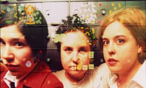 'Raw and uncompromising' … riot grrrl band Sleater-Kinney.