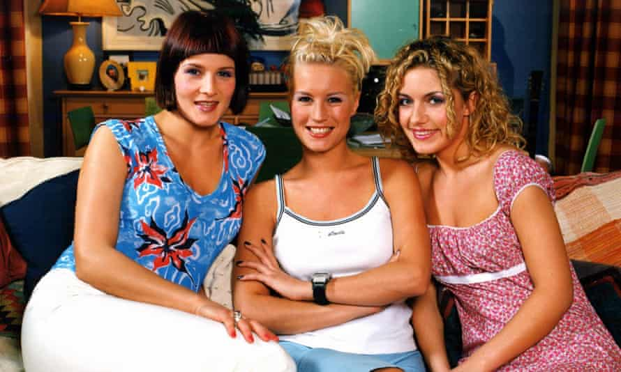 GTV ARCHIVEEDITORIAL USE ONLY / NO MERCHANDISING For merchandising, please contact James Feltham, james.feltham@itv.com Mandatory Credit: Photo by REX/Shutterstock (764373cg) 'Babes in the Wood' TV - 1999 - Madeleine Curtis, Denise Van Outen, Natalie Walker. GTV ARCHIVE