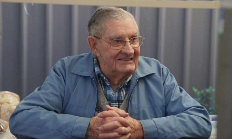 Ron Farrell, a Newmarch House aged care resident, who died of Covid-19