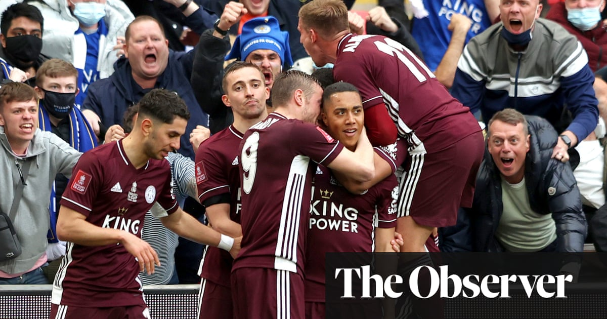Leicester City win first FA Cup after Youri Tielemans screamer sinks Chelsea
