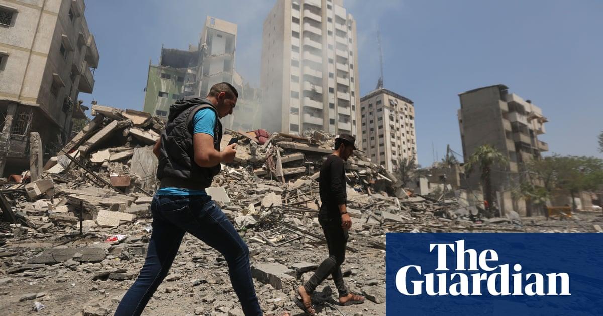Gaza suffers deadliest airstrikes yet as Israel targets Hamas leader – video report