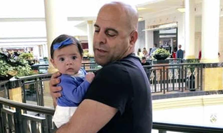 Amer Fakhoury (seen with his granddaughter)
