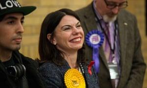 MP Sarah Olney.
