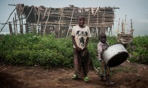 Children in North Kivu province, DRC