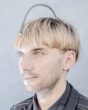 Neil Harbisson, from H+ by Matthieu Gafsou