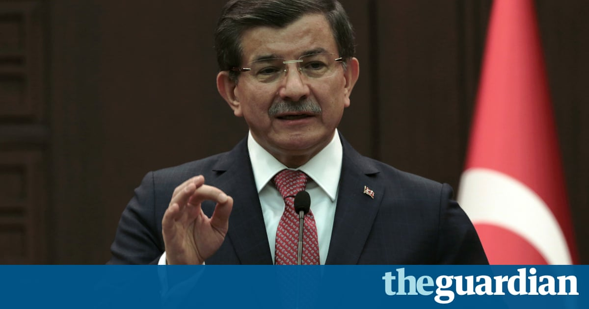 Turkish PM confirms shelling of Kurdish forces in Syria