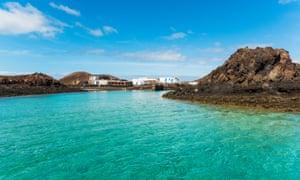El Puertito, La Isla de Lobos, Fuerteventura, Canary Islands, Spain.
