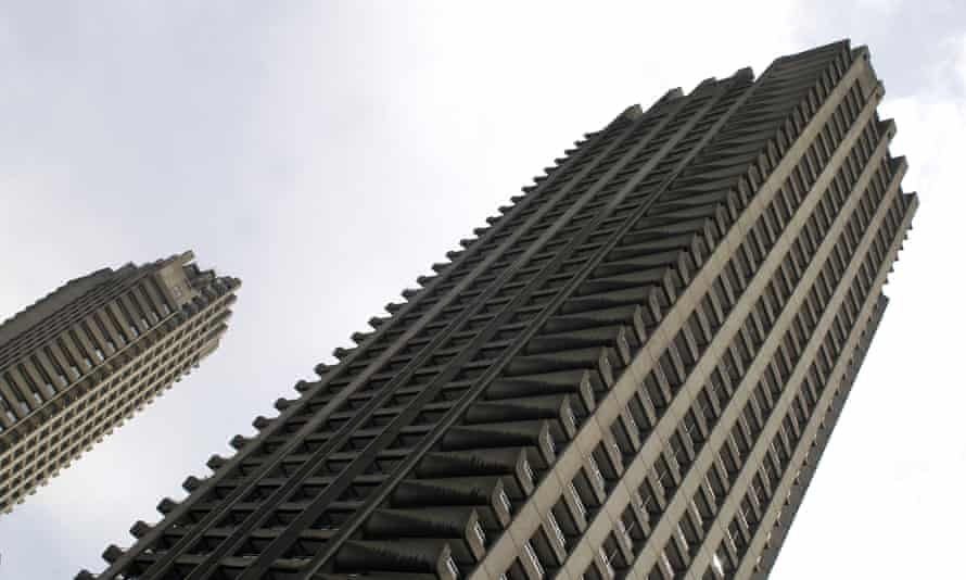 Shakespeare and Lauderdale Towers, Barbican Centre