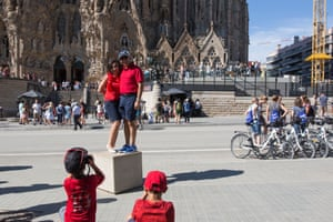 how tourism is killing barcelona  a photo essay  travel  the guardian barcelonas sagrada famlia