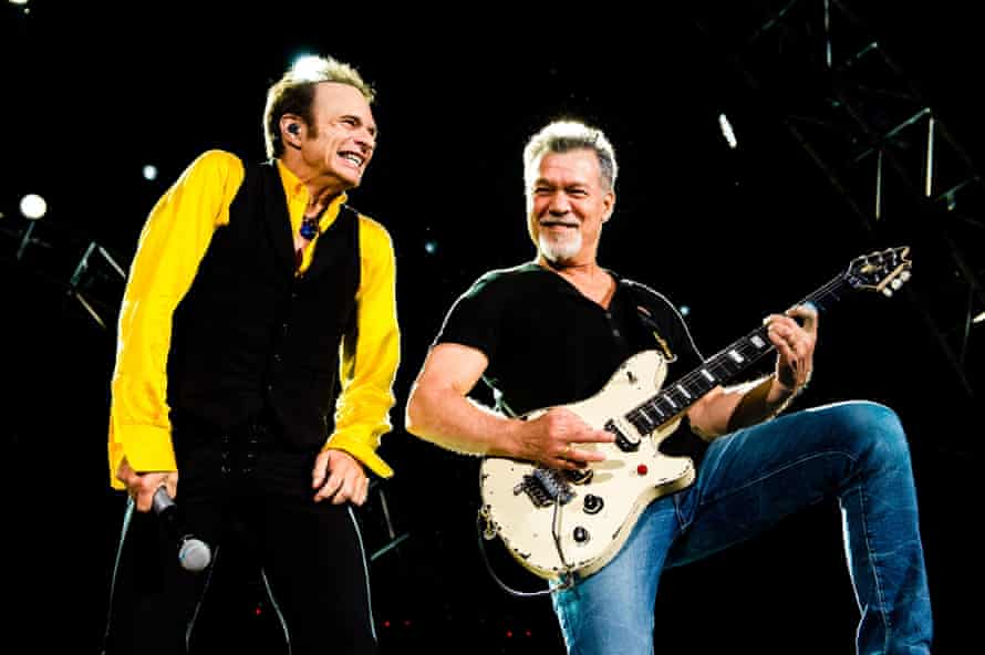 David Lee Roth and Eddie Van Halen in 2015.