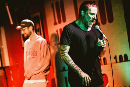 Sleaford Mods at the 100 Club.