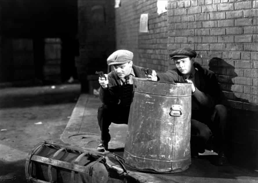 James Cagney and Edward Woods in The Public Enemy.