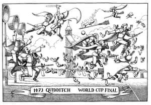 The year 1473 saw the first ever Quidditch World Cup. The final between Transylvania and Flanders has gone down in history as the most violent of all time.