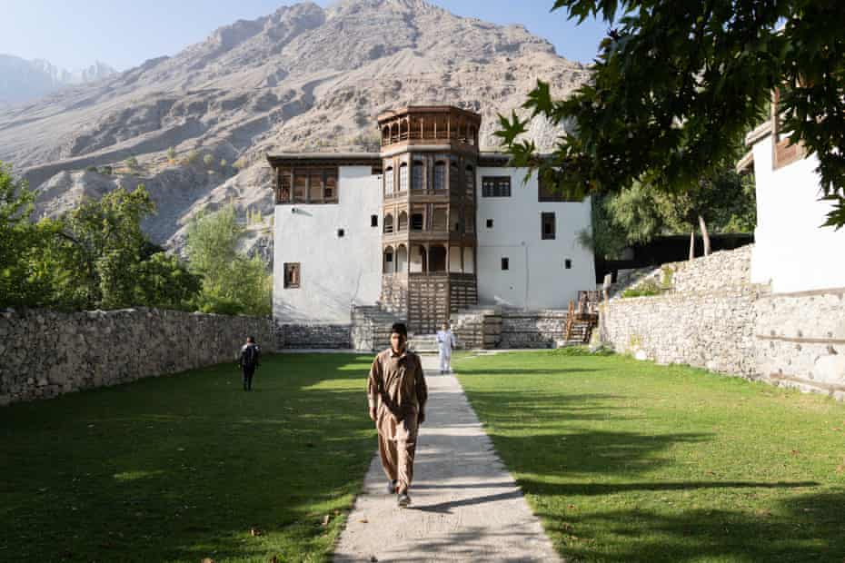 Khaplu Palace in Baltistan, an autonomous region in Pakistan's mountainous north east, is now a 21 room heritage hotel under the Serena Hotel Group