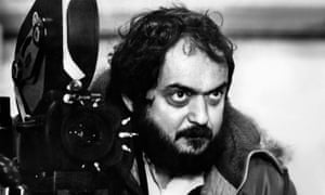 Stanley Kubrick during the filming of A Clockwork Orange in 1971