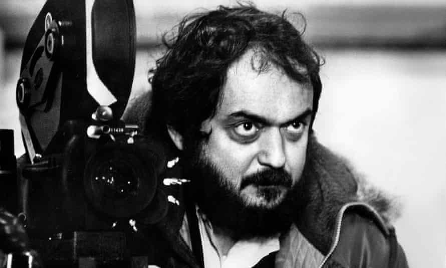 Stanley Kubrick on the set of A Clockwork Orange
