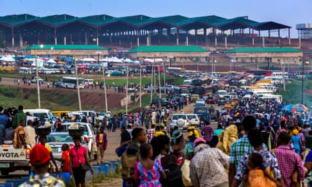 Millions of people attend the annual Holy Ghost convention at the Redemption Camp, Lagos, Nigeria. All photographs by Andrew Esiebo