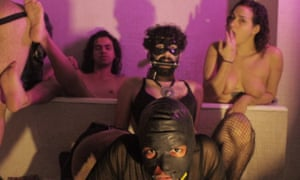Dissident bodies … a still from a video by Ediy collective, whose queer-themed work explores the nexus of art and pornography.