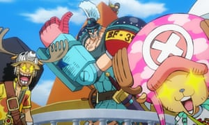 All the fun and subtlety of a 100-minute guitar solo … One Piece: Stampede.